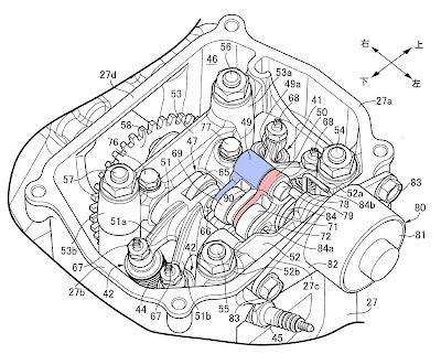 Patent VTEC Honda