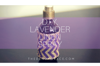 Lavender Linen Spray - 25 Essential Oil DIYs RoundUp