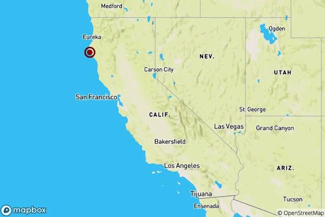 5.6 Quake Rattles Northern California