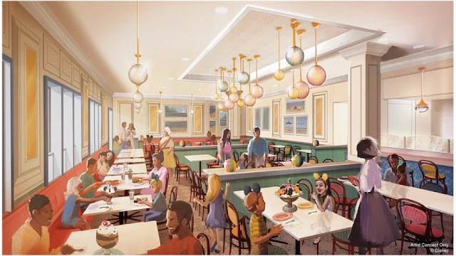 Beaches and Cream 2019 Concept Art Disney World