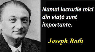 Maxima zilei: 2 septembrie - Joseph Roth