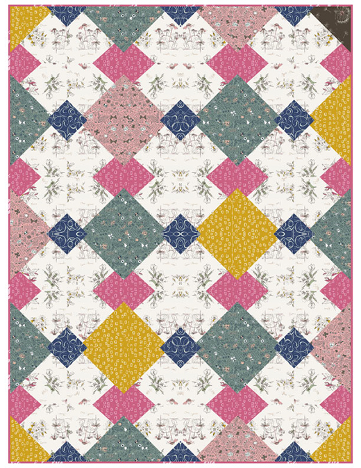 Framework Quilt designed by Lauv Grosso for AGF Blog
