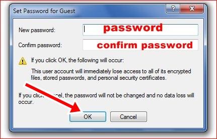 change password of computer , computer ka password kaise change kare.
