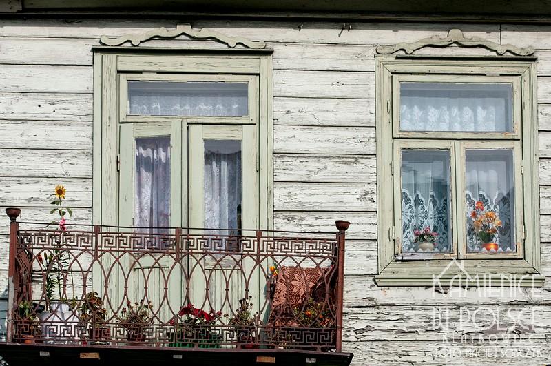 Sierpc. Drewniany dom.