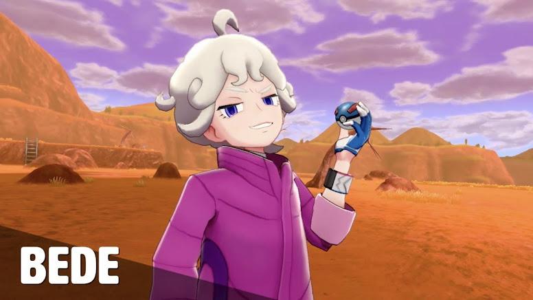 Bede Pokémon Sword e Shield