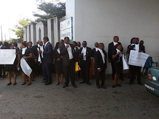 Calabar lawyers protest