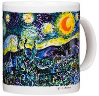 Vincent Van Gogh The Starry Night Coffee Mug