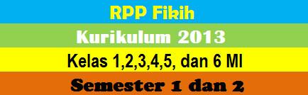 Rpp Fikih Kurikulum 2013 Mi Kelas 1 2 3 4 5 Dan 6 Ruang Belajar 2