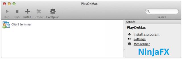 Cara instal MetaTrader 4 MacOS