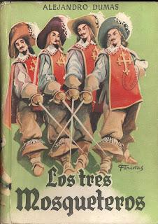 """""""Los tres mosqueteros"""" de Alejandro Dumas"""