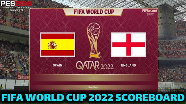 PES 2019 World Cup 2022 Full Scoreboard By Andò12345