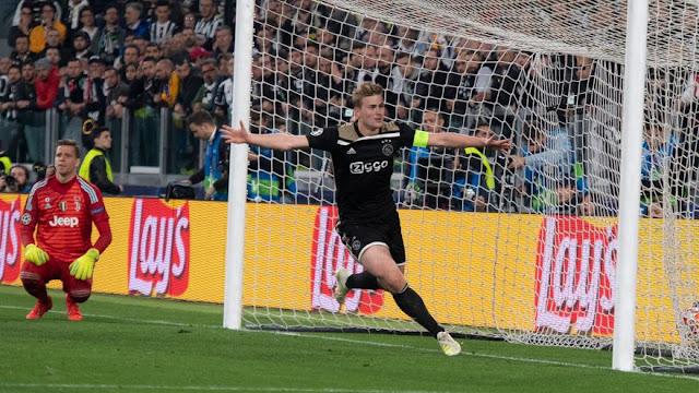 أياكس في نصف نهائي دوري أبطال أوروبا بعد الفوز على يوفنتوس