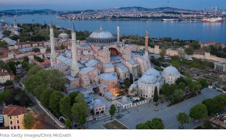 Agenda Muslim Turki di Balik Perubahan Hagia Sophia Jadi Masjid