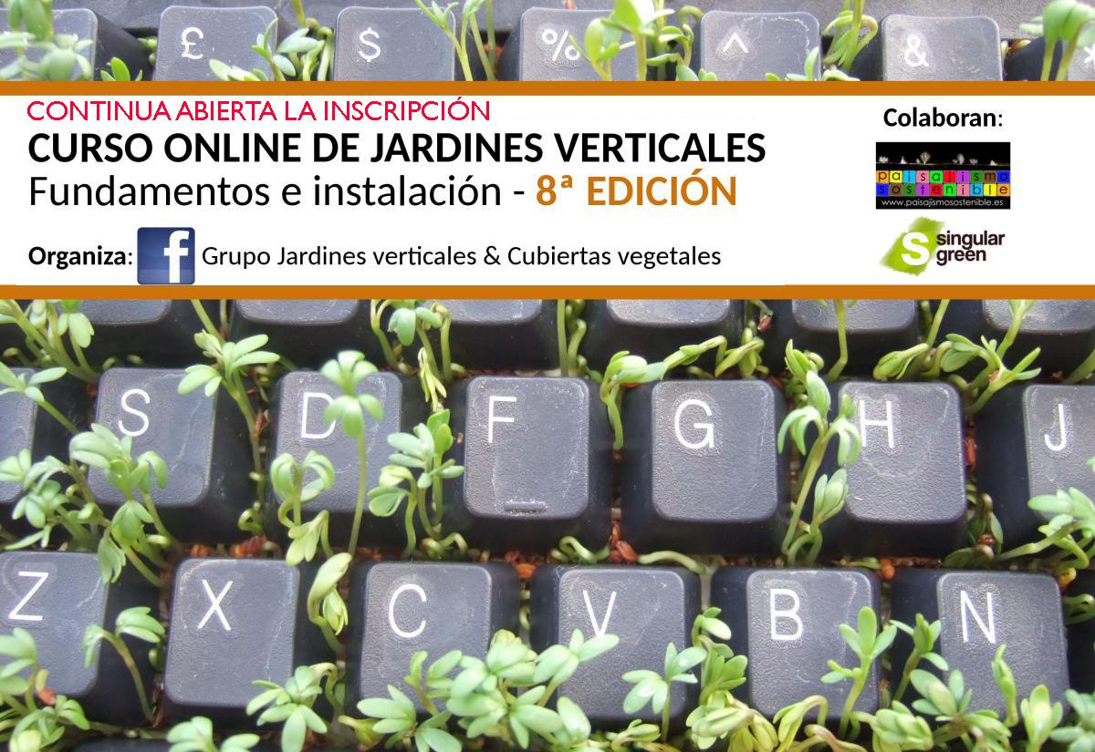 Jardines verticales y cubiertas vegetales for Estudiar jardineria