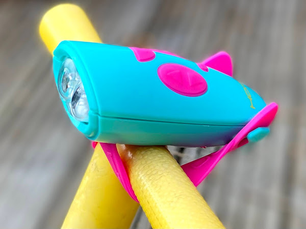Review & Giveaway: Hornit Mini Children's Bike and Scooter Light and Bell