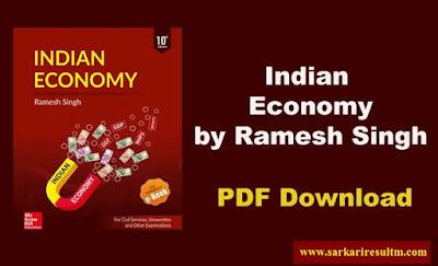 Indian Economy By Ramesh Singh PDF