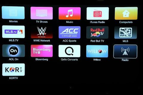 varieties of channels on apple tv internet live tv box