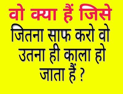 Vo Kiya Hai Jise Jithna Saaf Karo Vo Uthna Hi Kala Ho Jata hai ?