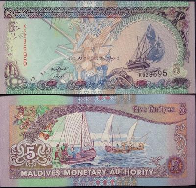 Tiền thuận buồm xuôi gió Maldives