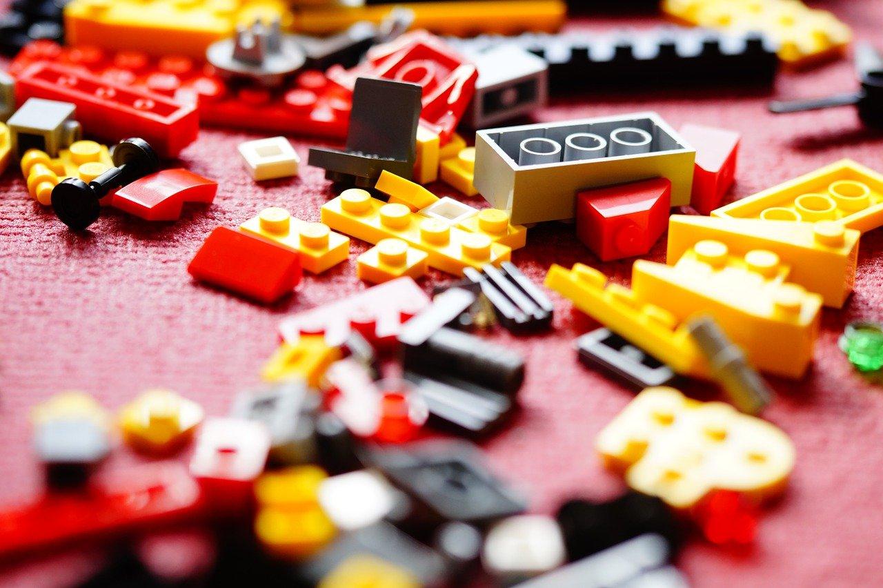 démonter ranger les legos