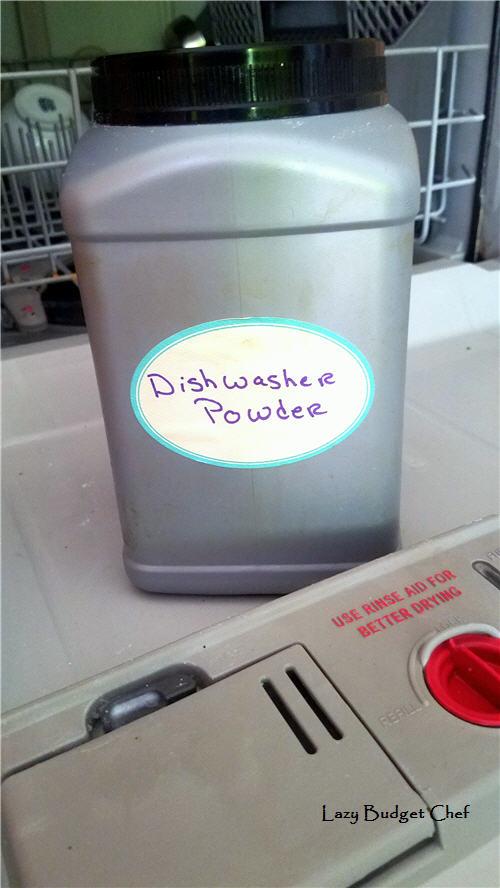 how to make dishwasher detergent work better