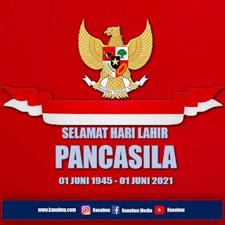 poster memperingati hari lahir pancasila png psd - kanalmu