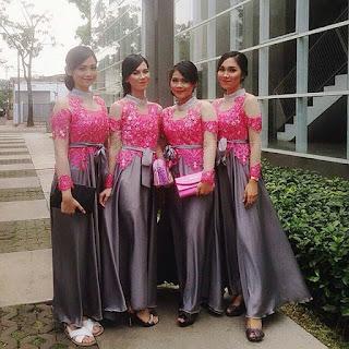 Kebaya Bali Brokat