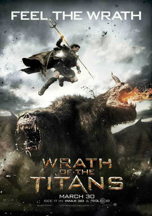 Wrath of The Titans 2012 BRRip 720p Dual Audio