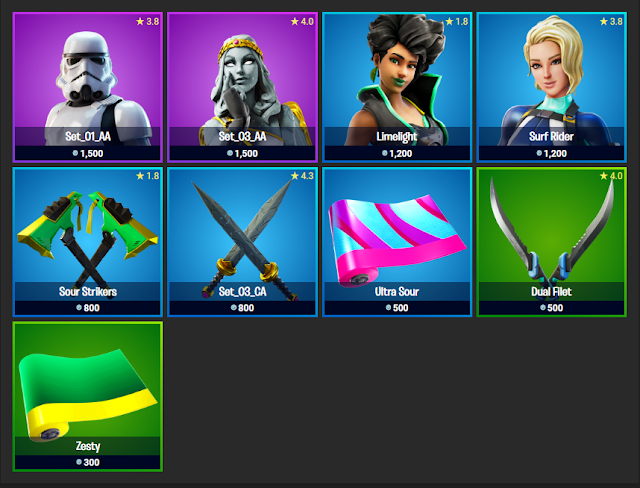 Fortnite Item Shop November 17, 2019