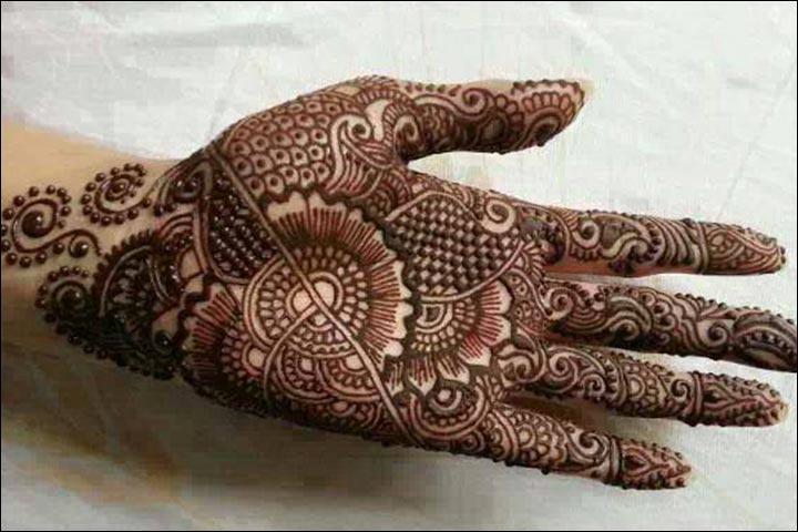 Simple Mehndi For Right Hand : Mehndi images