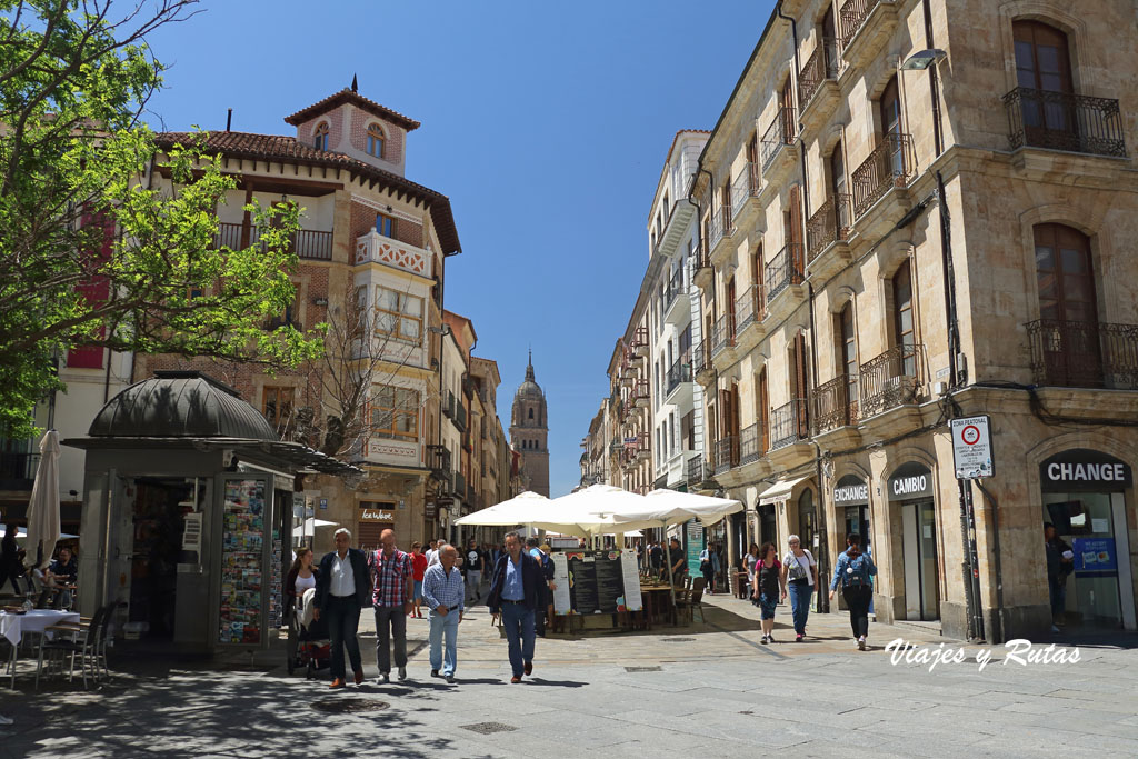 Rua Mayor de Salamanca