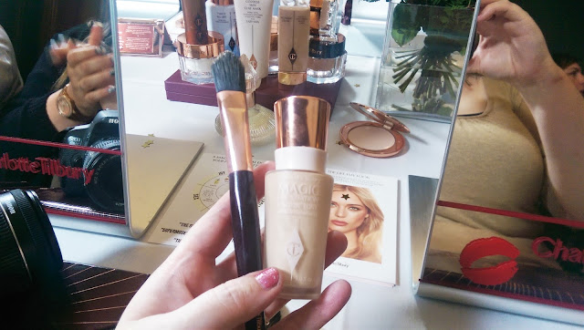Charlotte Tilbury Magic Foundation Shade 1 Swatch