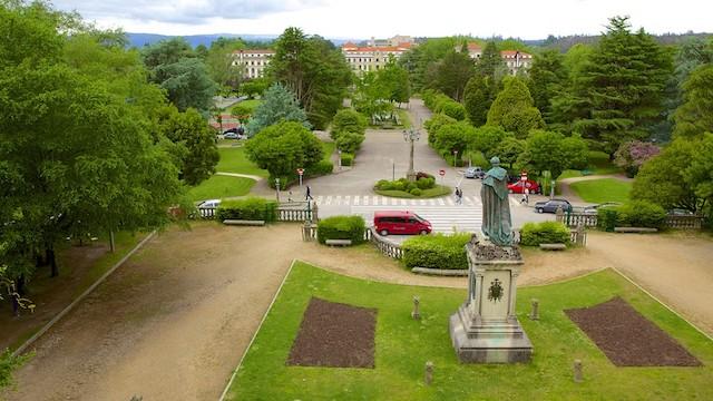 Parque da Alameda em Santiago de Compostela