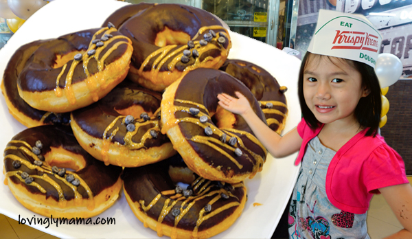 Krispy Kreme Philippines - Krispy Kreme Bacolod - Krispy Kreme Dark Chocolate Glitz - Bacolod City - Bacolod blogger - Bacolod mommy blogger - Bea Tan - volleyball - doughnut decorating - make your own doughnut - SM City Bacolod - MassKara Festival