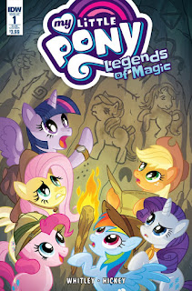 "New Comic Series ""Legends of Magic"" Launching in April!"