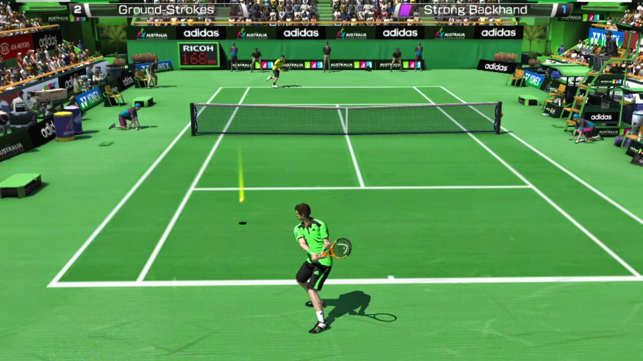 Virtua Tennis 4 Free Download Game