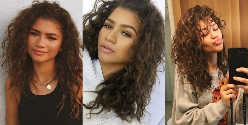Zendaya natural hair
