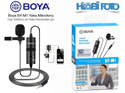 Boya BY-M1 Yaka Mikrofonu