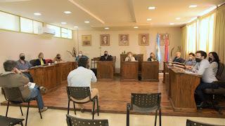 El Intendente Ricardo Bravo se reunió con todos los Concejales