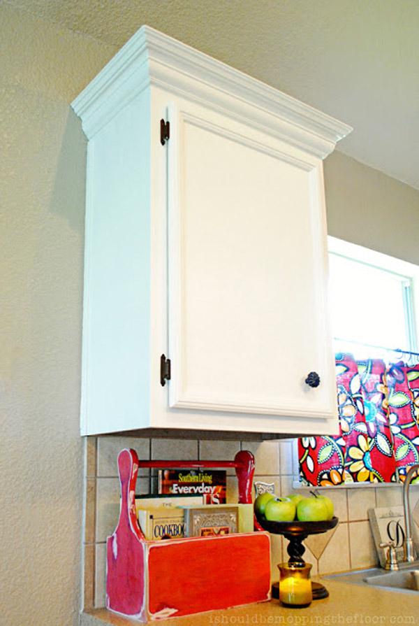 Upgrading Builder Grade Cabinets