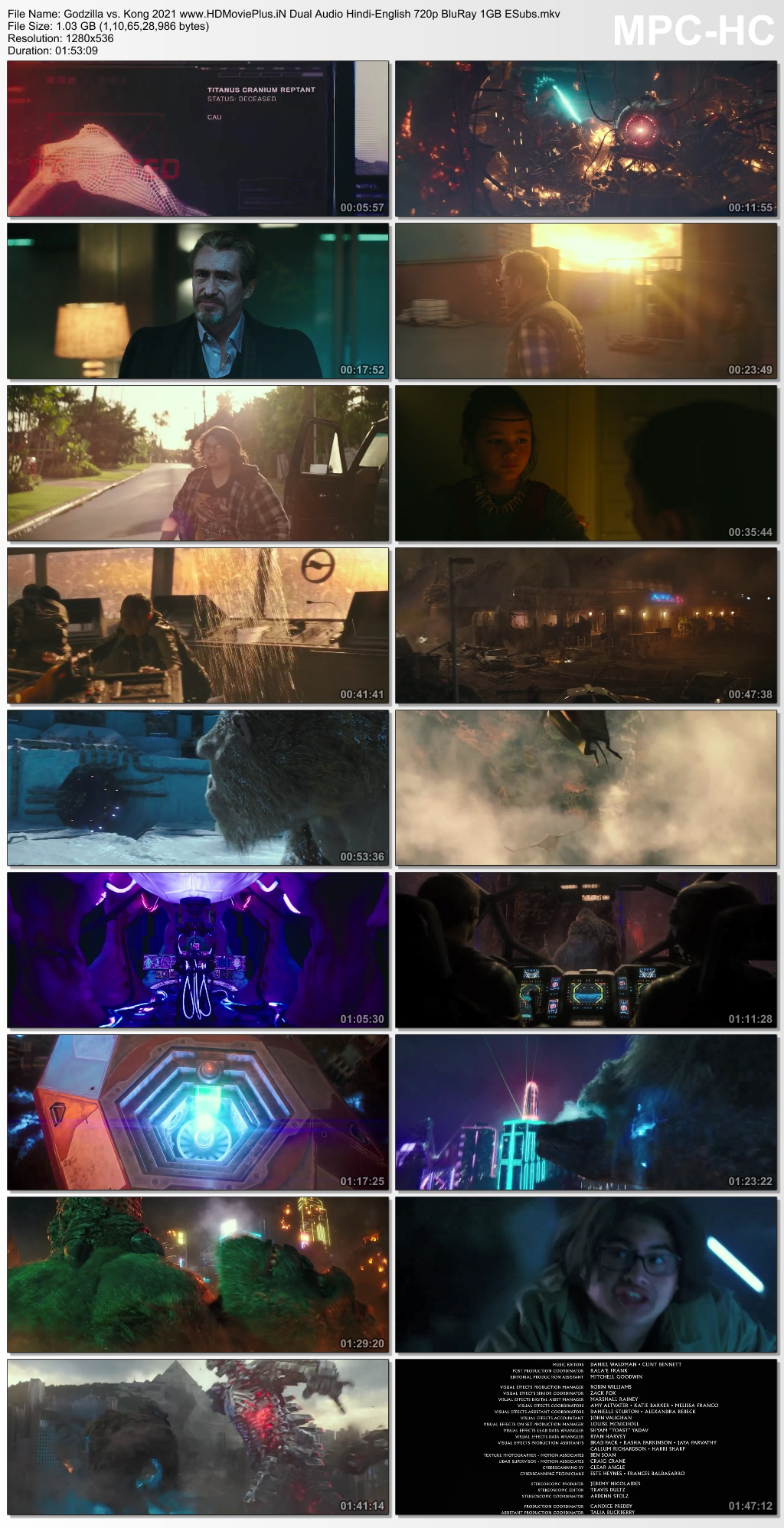 Godzilla vs. Kong 2021 Dual Audio