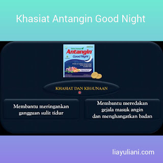 Khasiat Antangin Good Night