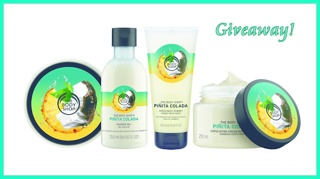 Giveaway The Body Shop Pinita Colada