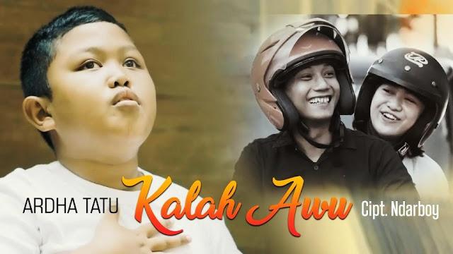 Lirik lagu Ardha Tatu Kalah Awu