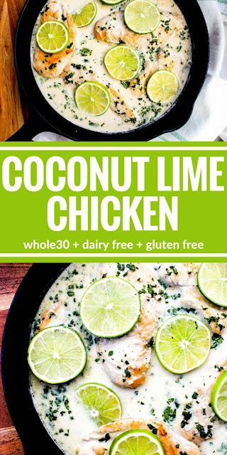 Creamy Coconut Lime Chicken Recipe