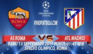 prediksi as roma vs atletico madrid 13 september
