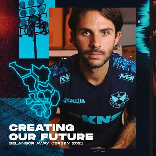 Selangor FC 2021 Away jersi Kits