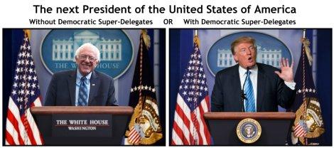 President Sanders or Trump