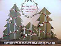 beadboard christmas trees