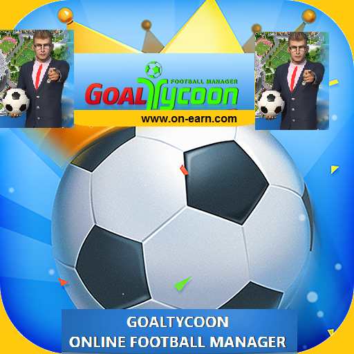 تطبيق جول تايكون الربحية على جوجل بلاي GoalTycoon : Be a Football Manager  App